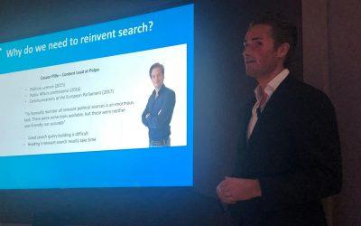 Polpo maakt indruk met presentatie Slimme Politieke Monitor tijdens de Cloud Europe Business Partner Advisory Council in Milaan