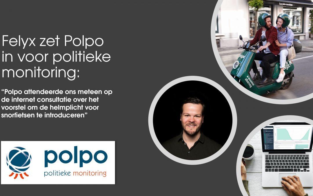 """Daan Wijnants: """"Polpo attendeerde ons meteen op de internetconsultatie over het voorstel om de helmplicht voor snorfietsen te introduceren"""""""