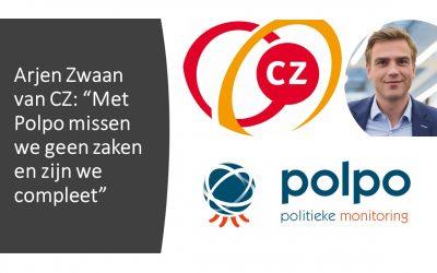 """Arjen Zwaan van CZ: """"Met Polpo missen we geen zaken en zijn we compleet"""""""