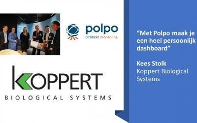 """""""Met Polpo maak je een heel persoonlijk dashboard"""", Kees Stolk, Koppert Biological Systems"""
