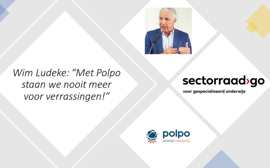 """Wim Ludeke van Sectorraad GO: """"Met Polpo staan we nooit meer voor verrassingen!"""""""